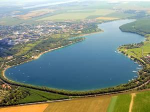 Kulkwitzer See von Oben