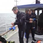 Tauchboot bei Mommark